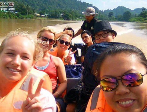 Expedition Borneo cruise Kinabatangan River!